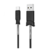 Кабель Hoco X24 Pisces charged Micro USB длина 1.2м черный