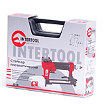 Степлер INTERTOOL PT-1610 пневмо. под скобу 12.80 * 16 мм
