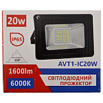 Прожектор Led Light 20W IP65 6500К