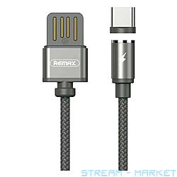 Кабель Remax RC-095a Gravity series USB Type-C 1м серый